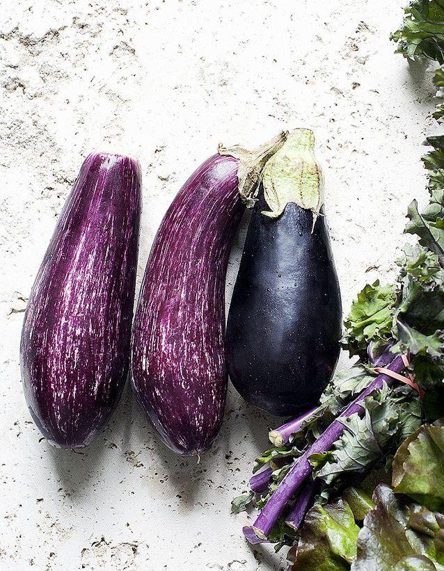 Aliment diurétique : l'aubergine