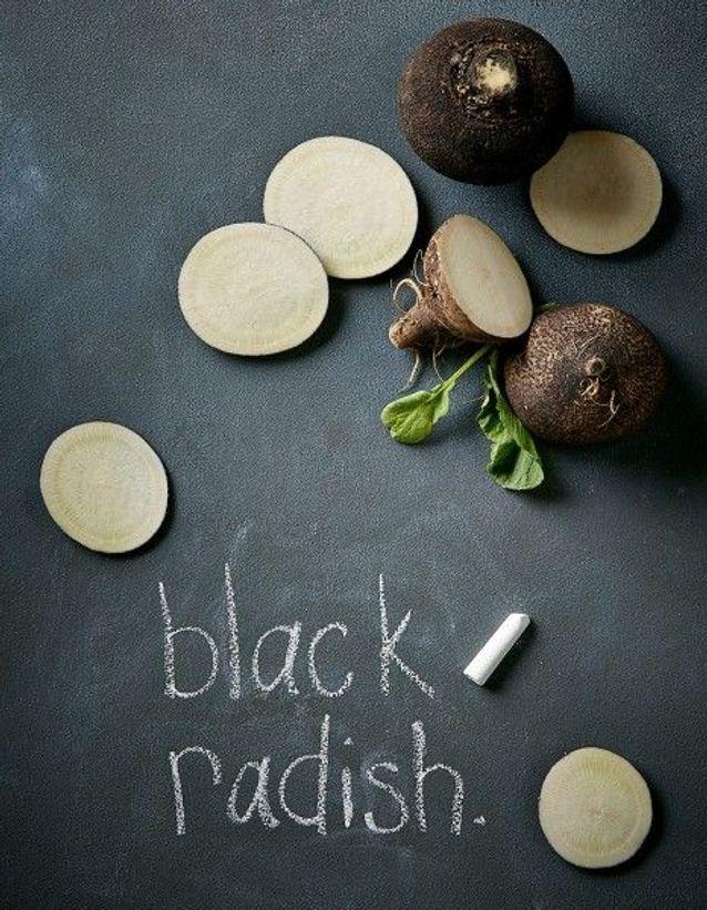 Aliment diurétique : le radis noir