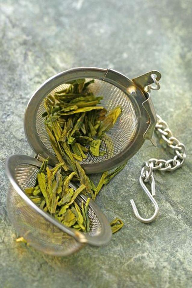 Aliment diurétique : le thé vert