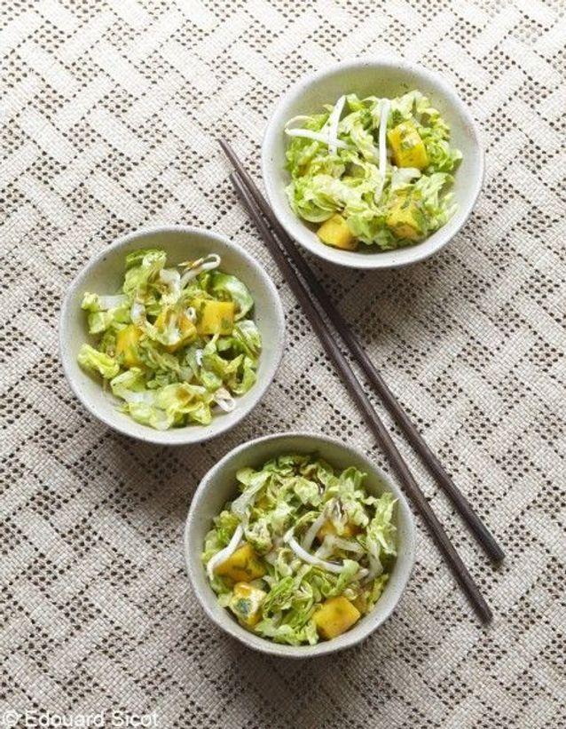 Recette minceur rapide : salade thaïe