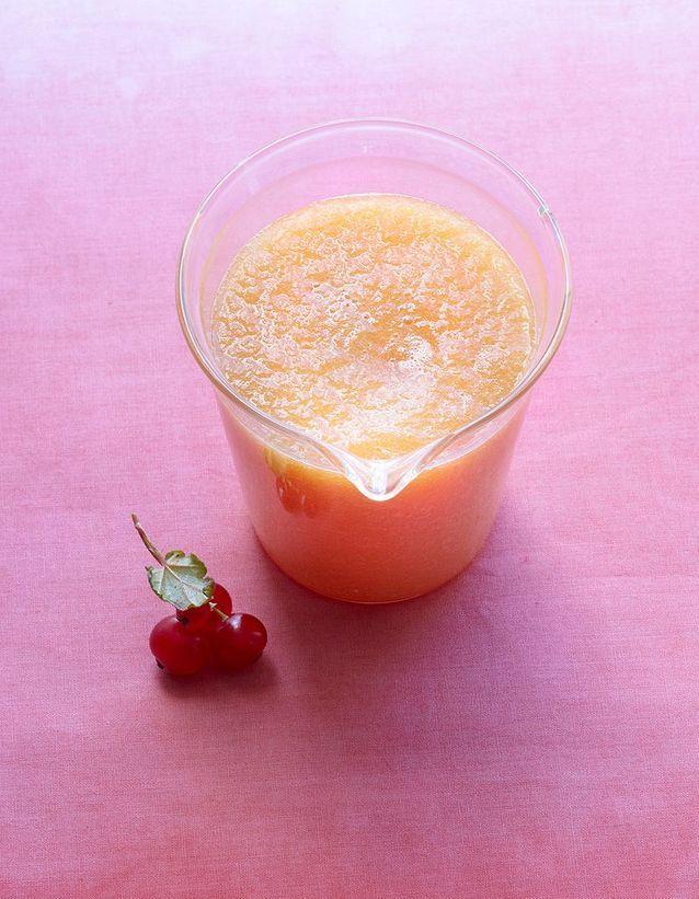 Soupe minceur de melon au gingembre
