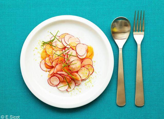 Salade de radis citronnette