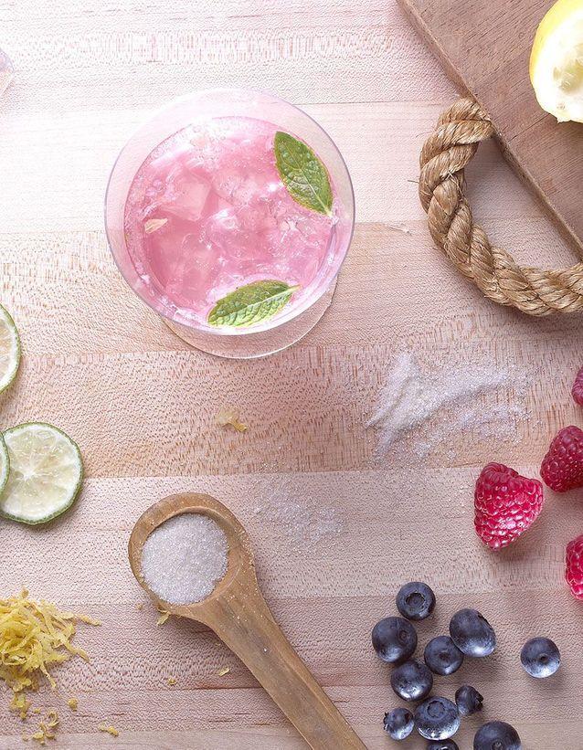 Dessert léger : Soda à la pastèque