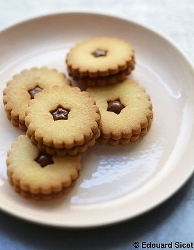 Biscuits goûters au Nutella