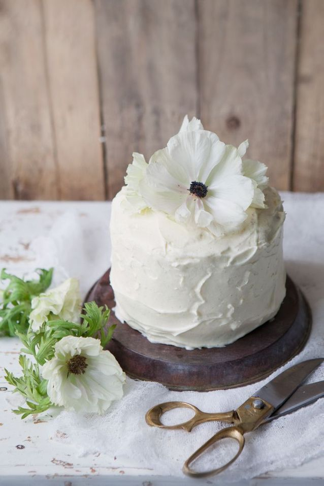 Gâteau coco et chocolat blanc