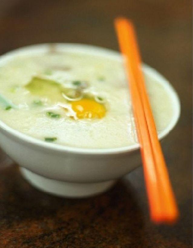 Congee (porridge de riz)