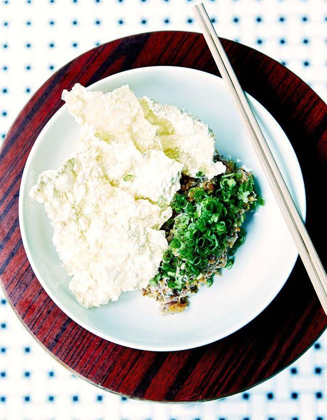 Tartare d'agneau chinois