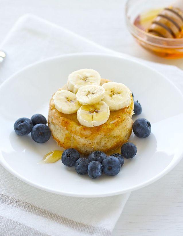 Un soufflé à la banane