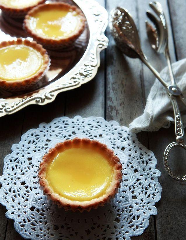 Une tarte au citron sans pâte à tarte