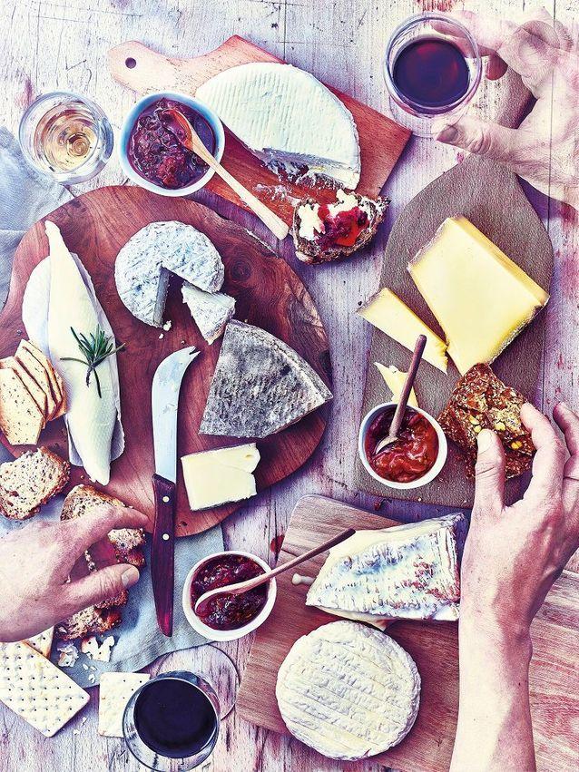 Cuisine recettes été grandes tablées : Fromages et chutneys