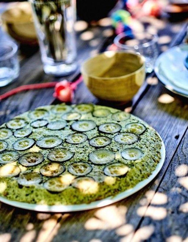 Cuisine recettes été grandes tablées : Gâteau de courgettes
