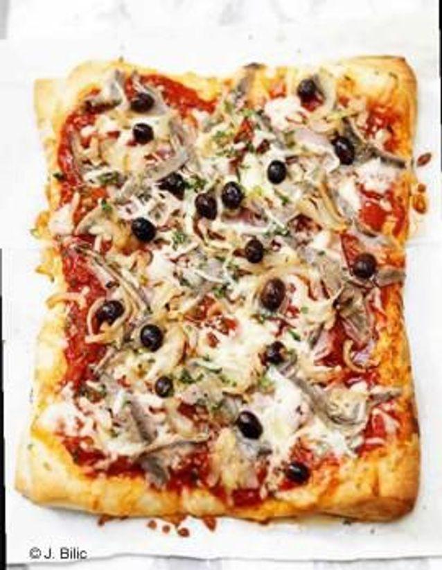 Cuisine recettes été grandes tablées : Pizza XXL