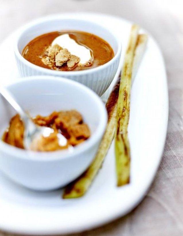Soupe de légumes : Soupe de poisson et rouille