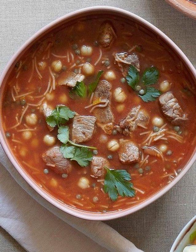 Soupe de légumes : Soupe harira