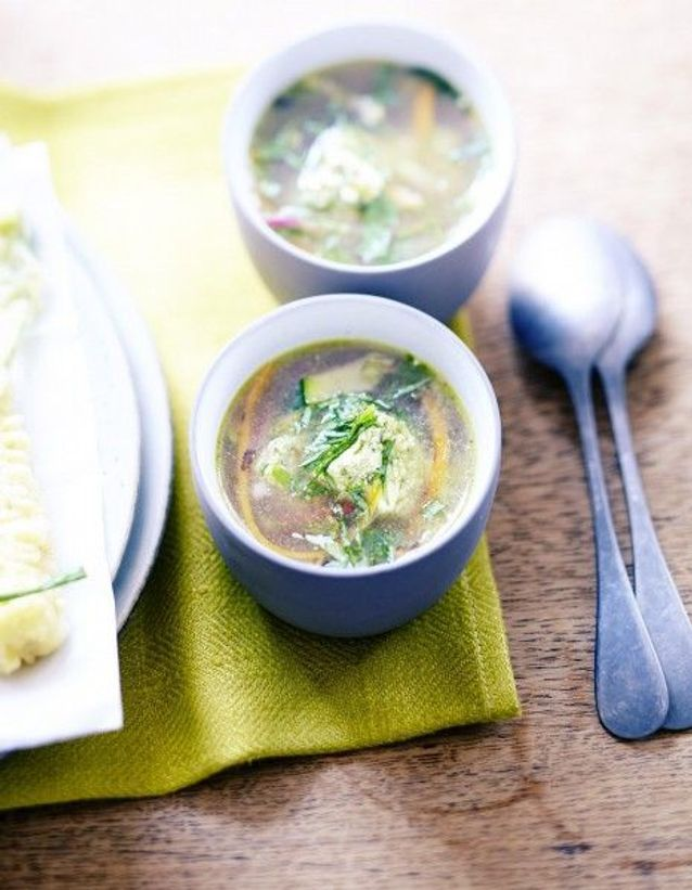 Soupe de légumes : Soupe miso
