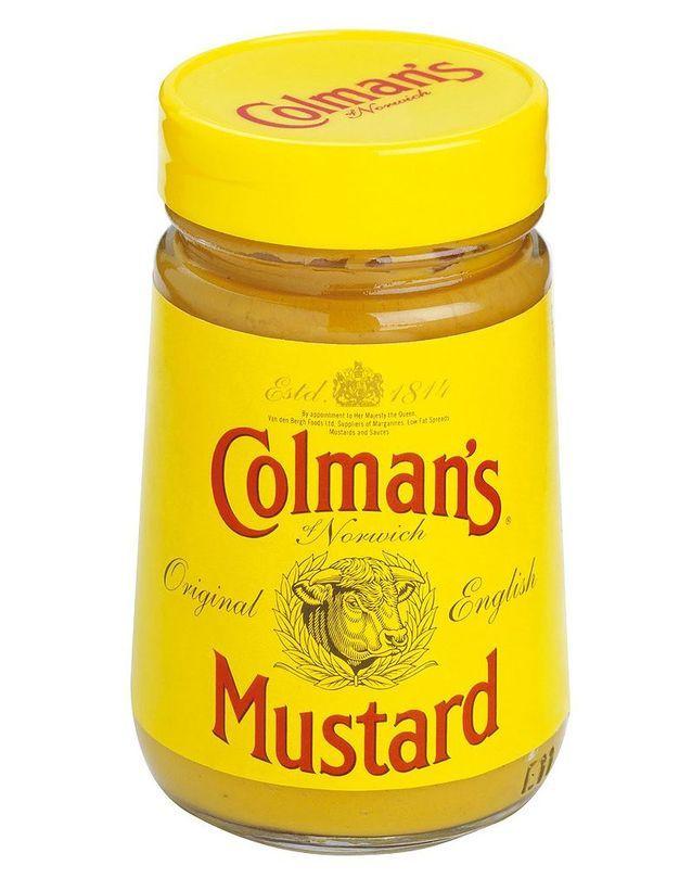 Colmans Mustard Jar