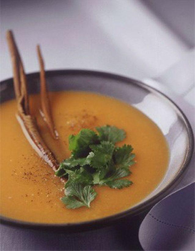 Soupe froide de carotte