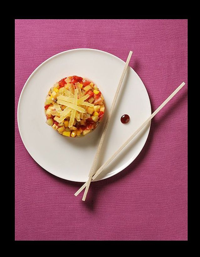 Tartare de fruits