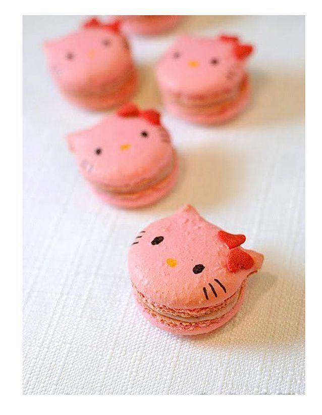 Un macaron rose