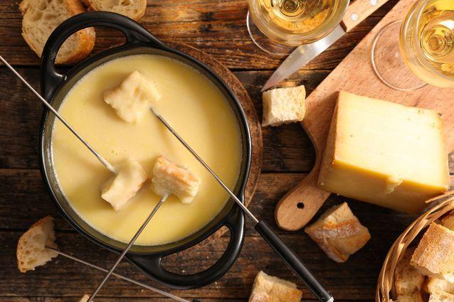 30 recettes pour être fondues de fromage