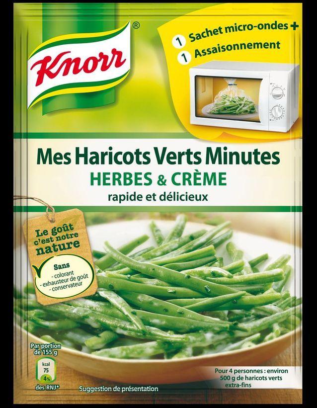 Knorr Sachet Micro ondes   Herbes Et Crème