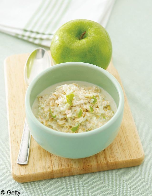 Granola d'automne aux pommes et fruits secs