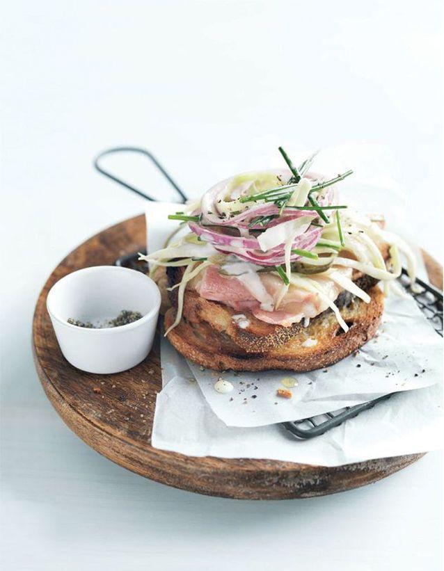 Sandwich de printemps