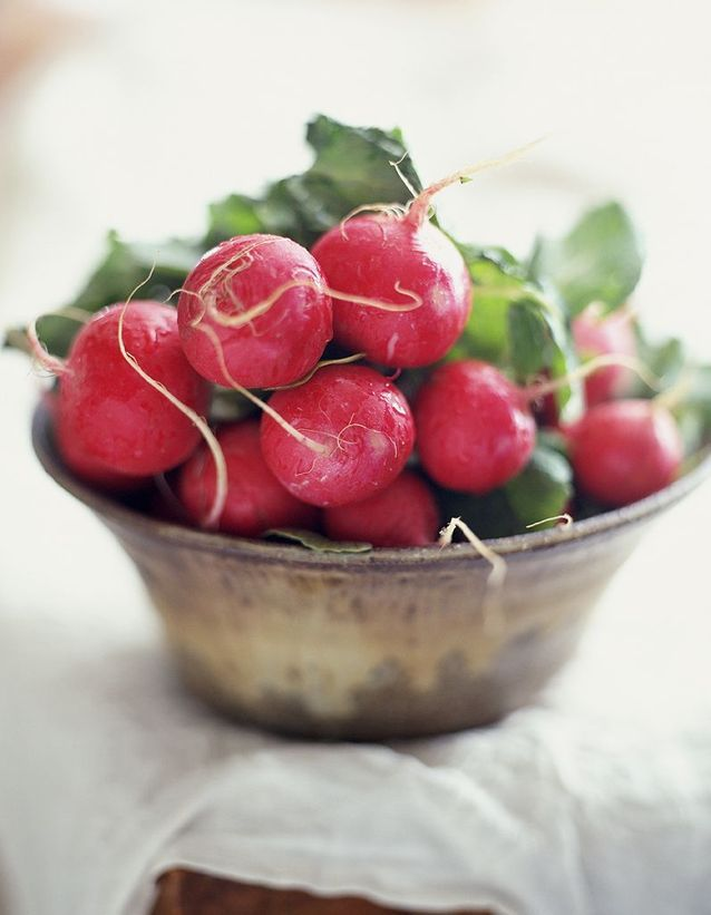 Creuser des radis ronds