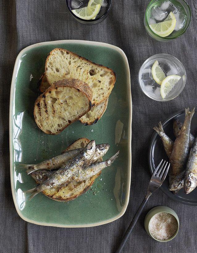 Tartines de poissonnier