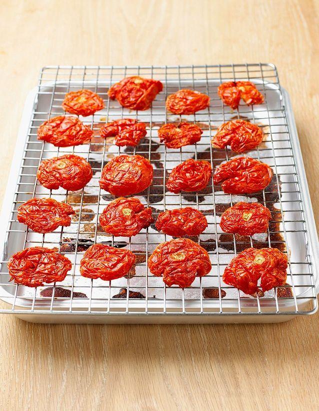Tenter les tomates cuites au soleil