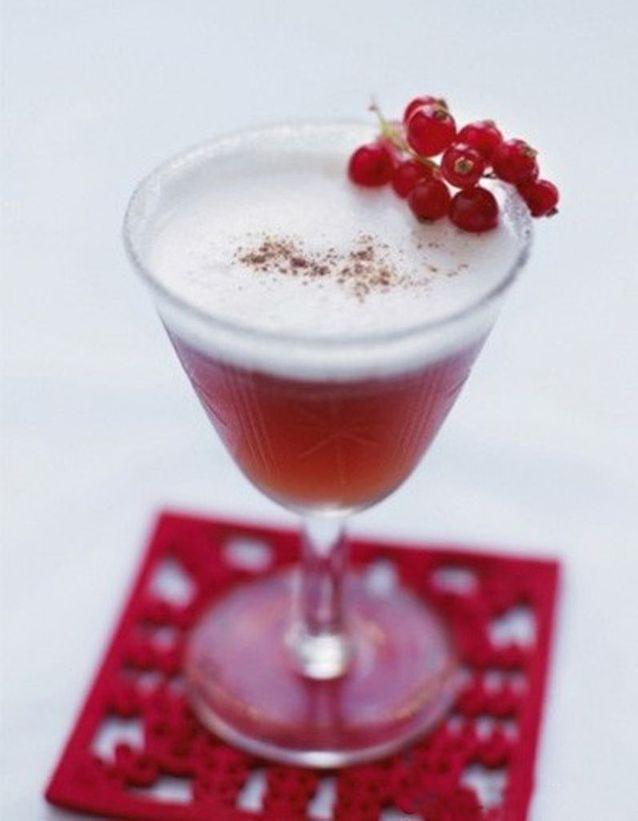 Spice rhum cocktail
