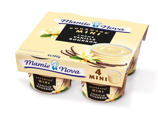 Mini gourmand vanille mamie nova