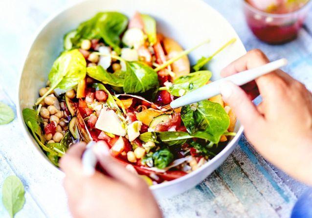 Comment Faire Une Salade Originale Elle A Table