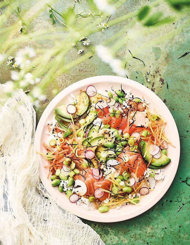 Salade chirashi