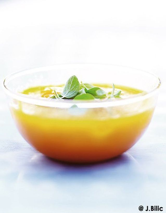 Salade orange à boire