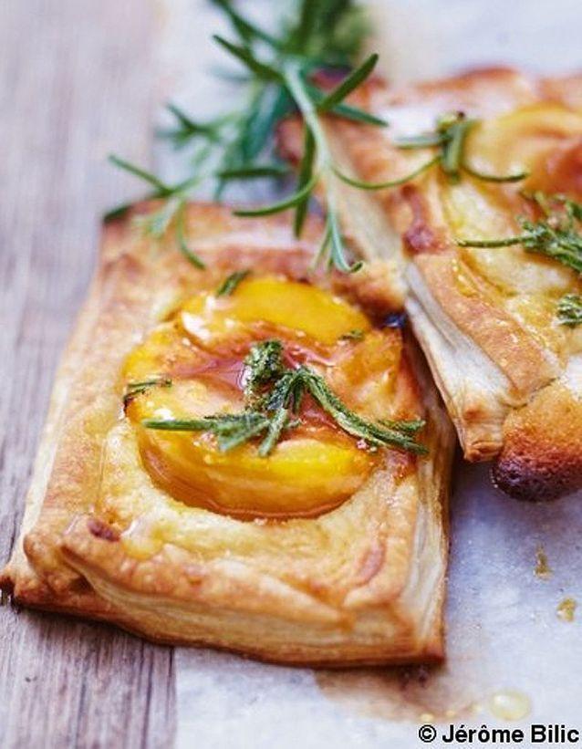 Tartelettes aux abricots et crème d'amandes