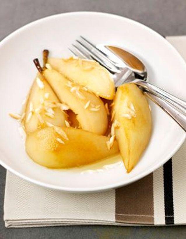 Poêlée de poires au sirop d'érable