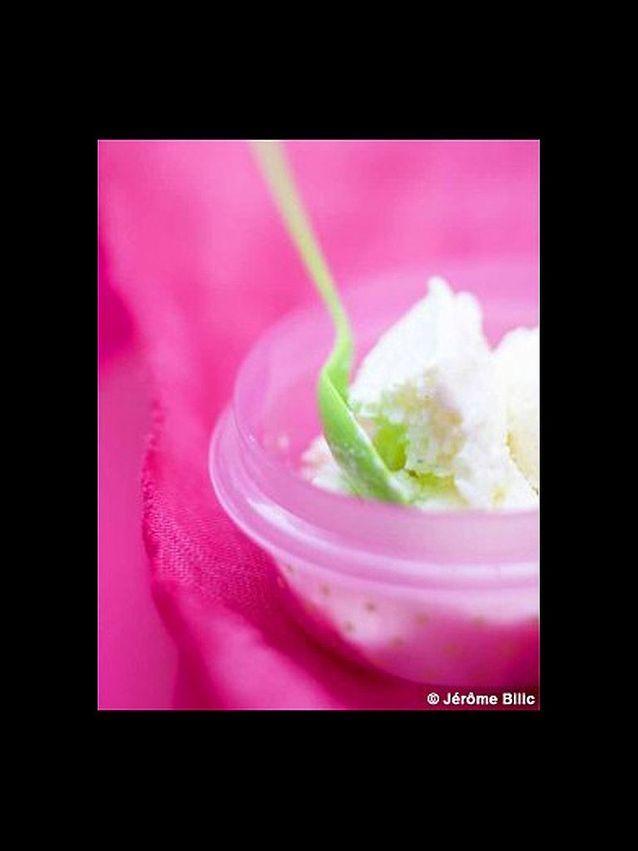 Creme glacee de riz au lait