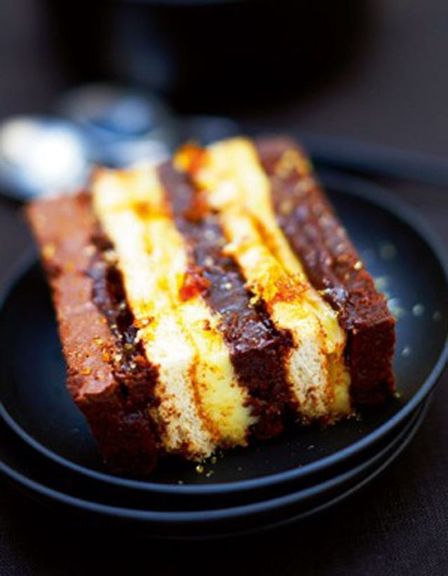 Gateau chocolat creme de marrons r
