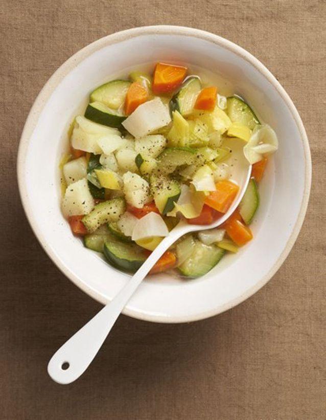 La basique soupe de legumes