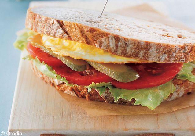 50 recettes de tartines et sandwiches