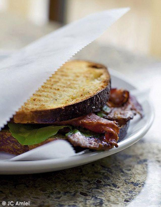 BLT bacon laitue tomate