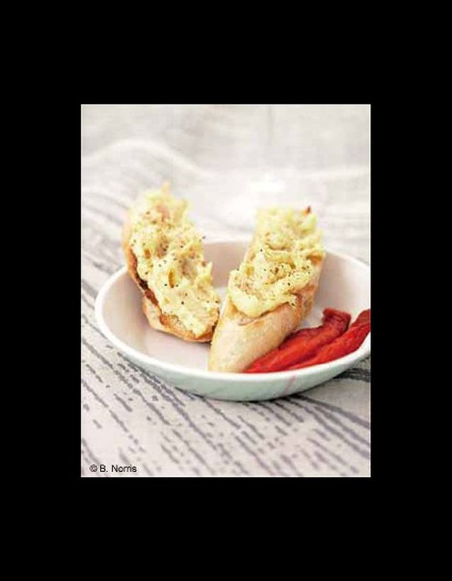 Pâté de thon et poivrons