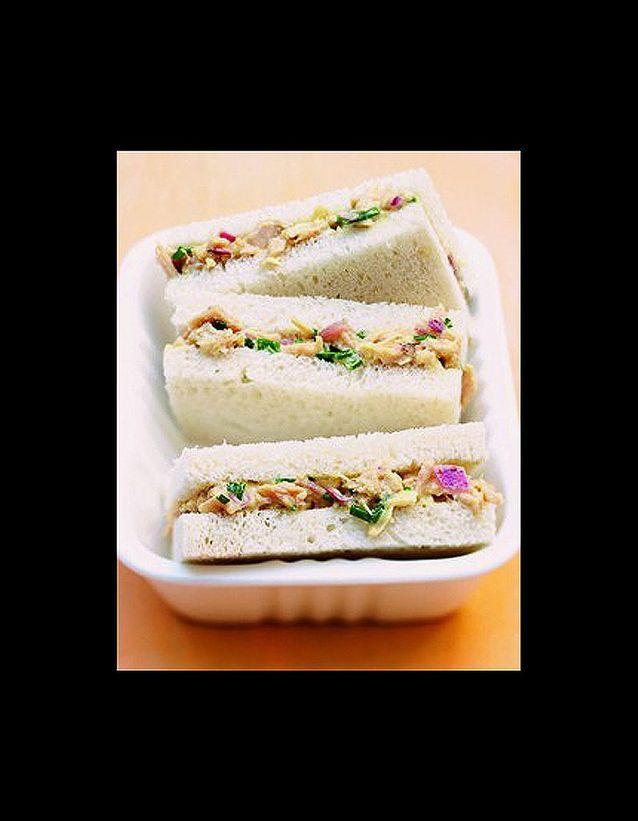 Sandwiches thon mayo