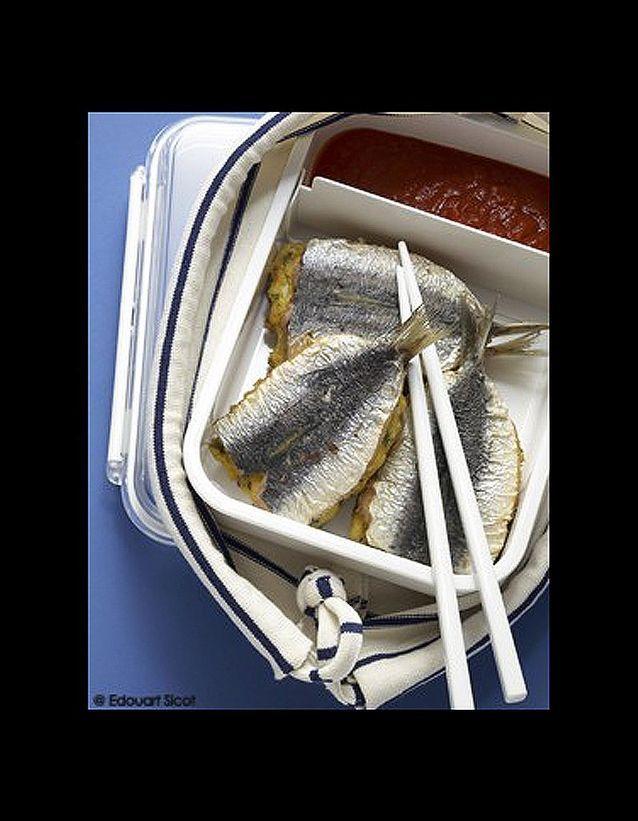 Sardines en sandwiches