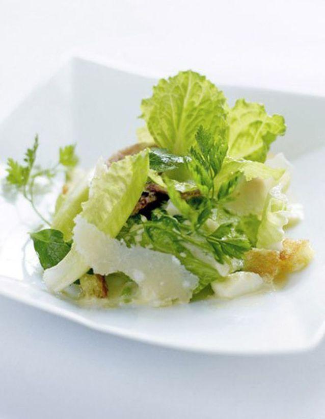 La salade césar des Landes
