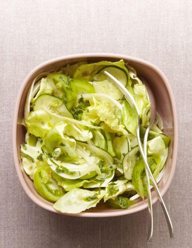Ma salade toute verte