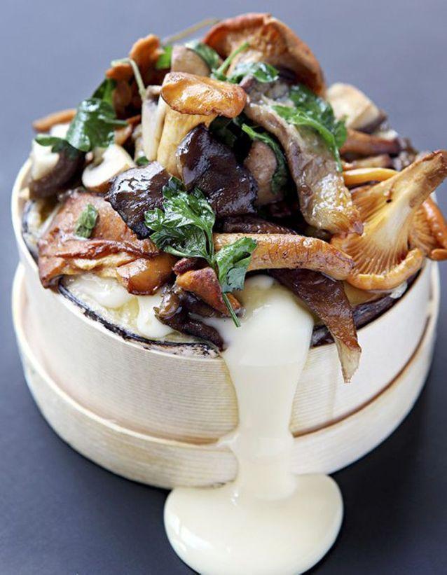 Mont-d'or aux champignons