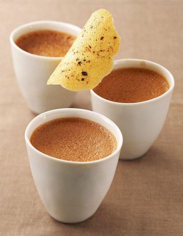Crèmes au chocolat express