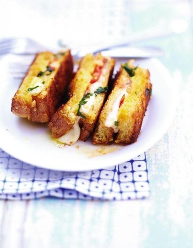 Croque mozzarella